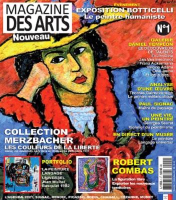 Magazine Des Arts N°1 – Février-Mars 2021