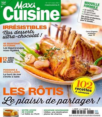 Maxi Cuisine N°147 – Mars 2021