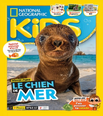 National Geographic Kids N°45 – Avril 2021