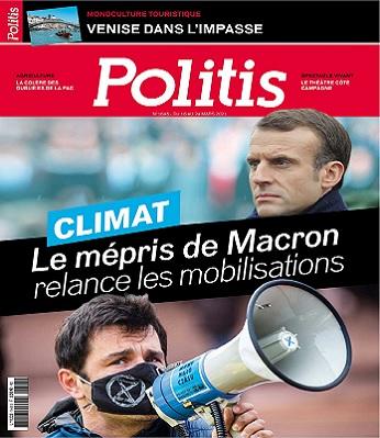 Politis N°1645 Du 18 au 24 Mars 2021