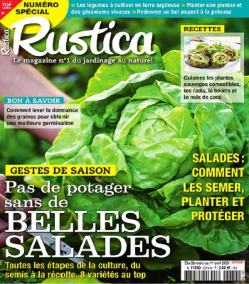 Rustica N°2674 Du 26 Mars 2021