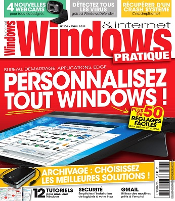 Windows et Internet Pratique N°106 – Avril 2021