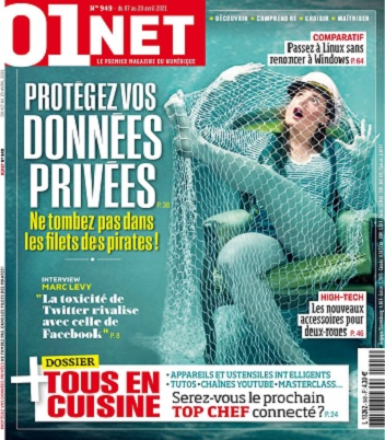 01Net N°949 Du 7 au 20 Avril 2021