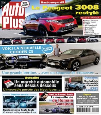 Auto Plus N°1702 Du 16 Avril 2021