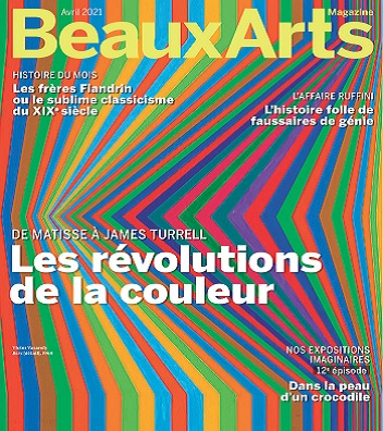 Beaux Arts Magazine N°442 – Avril 2021