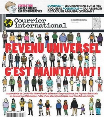 Courrier International N°1588 Du 8 Avril 2021