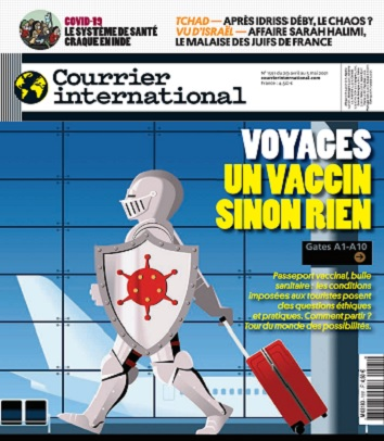 Courrier International N°1591 Du 29 Avril 2021