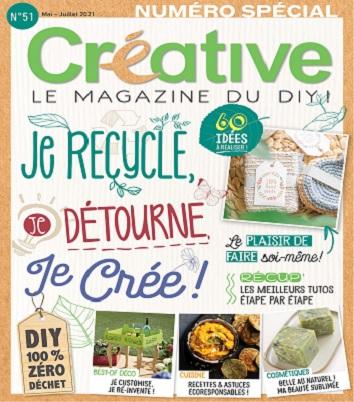 Créative N°51 – Mai-Juillet 2021