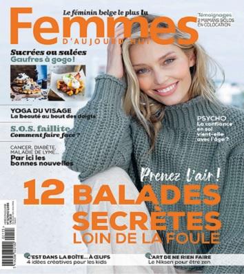 Femmes D'Aujourd'hui N°13 Du 1er Avril 2021
