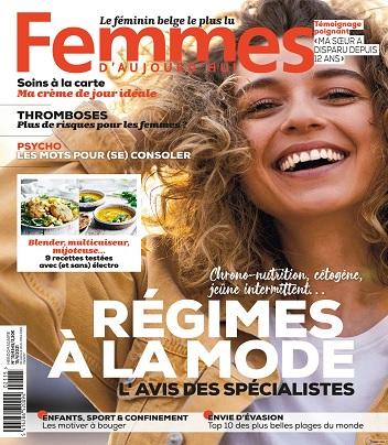 Femmes D'Aujourd'hui N°15 Du 15 Avril 2021