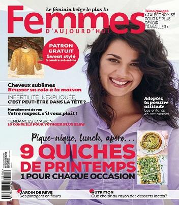 Femmes D'Aujourd'hui N°17 Du 22 Avril 2021