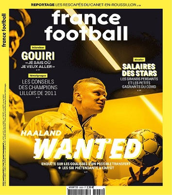 France Football N°3901 Du 20 au 26 Avril 2021