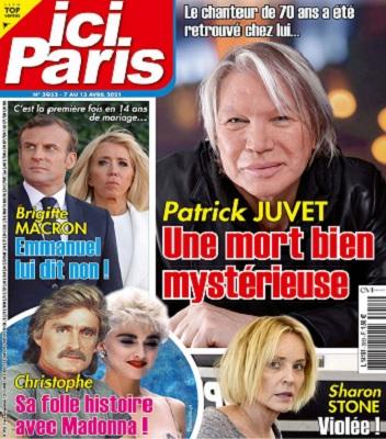 Ici Paris N°3953 Du 7 au 13 Avril 2021