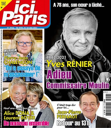 Ici Paris N°3956 Du 28 Avril 2021
