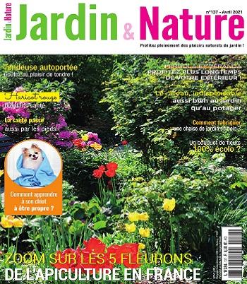 Jardin et Nature N°137 – Avril 2021