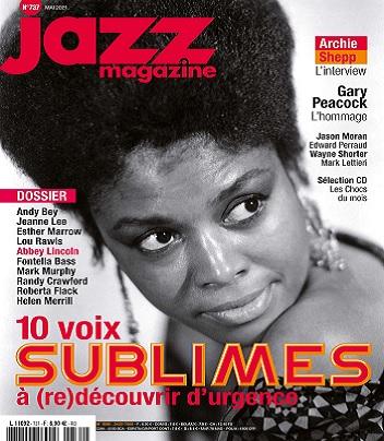 Jazz Magazine N°737 – Mai 2021