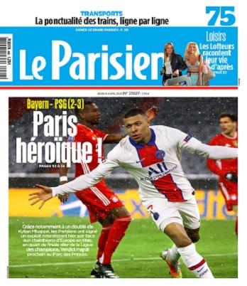 Le Parisien Du Jeudi 8 Avril 2021