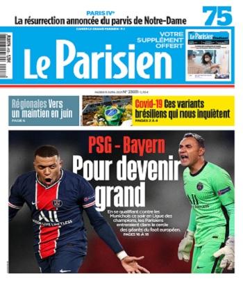 Le Parisien Du Mardi 13 Avril 2021