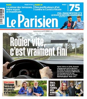 Le Parisien Du Mardi 27 Avril 2021