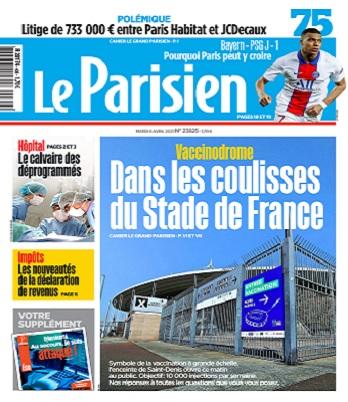 Le Parisien Du Mardi 6 Avril 2021