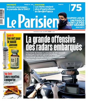Le Parisien Du Mercredi 21 Avril 2021