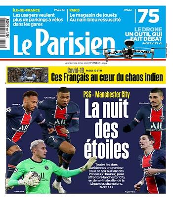 Le Parisien Du Mercredi 28 Avril 2021