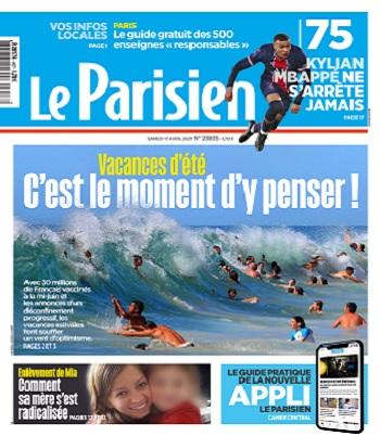 Le Parisien Du Samedi 17 Avril 2021