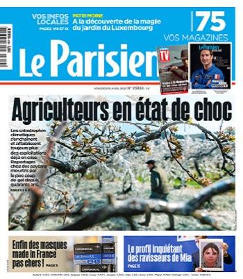 Le Parisien Du Vendredi 16 Avril 2021