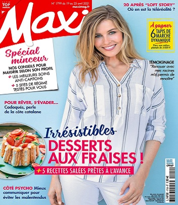 Maxi N°1799 Du 19 au 25 Avril 2021