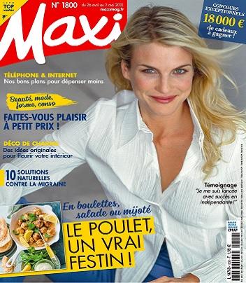 Maxi N°1800 Du 26 Avril 2021