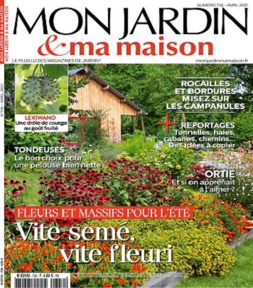 Mon Jardin et Ma Maison N°736 – Avril 2021