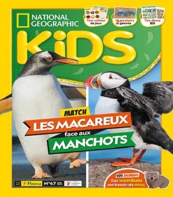 National Geographic Kids N°47 – Juin 2021