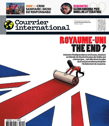 Courrier International N°1592 Du 6 Mai 2021