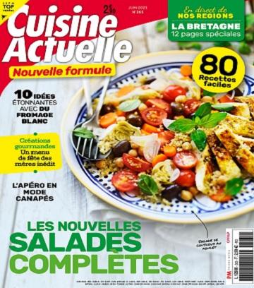 Cuisine Actuelle N°365 – Juin 2021