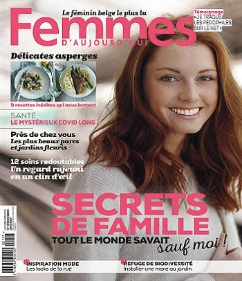 Femmes D'Aujourd'hui N°18 Du 29 Avril 2021