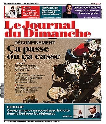 Le Journal Du Dimanche N°3877 Du 2 Mai 2021
