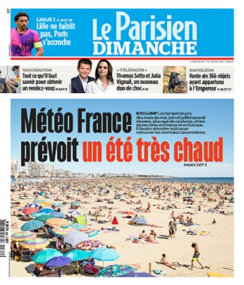 Le Parisien Du Dimanche 2 Mai 2021