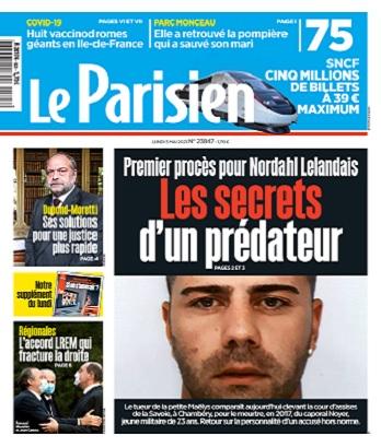 Le Parisien Du Lundi 3 Mai 2021