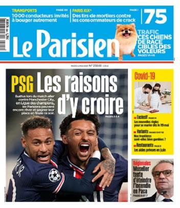 Le Parisien Du Mardi 4 Mai 2021