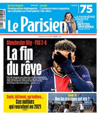 Le Parisien Du Mercredi 5 Mai 2021