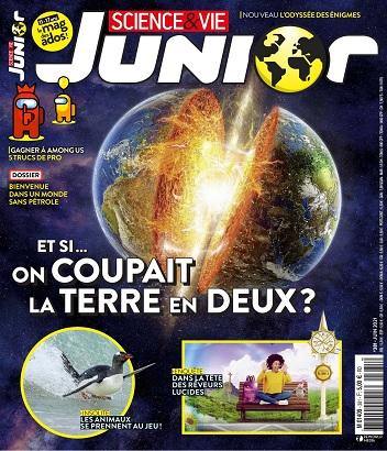 Science et Vie Junior N°381 – Juin 2021