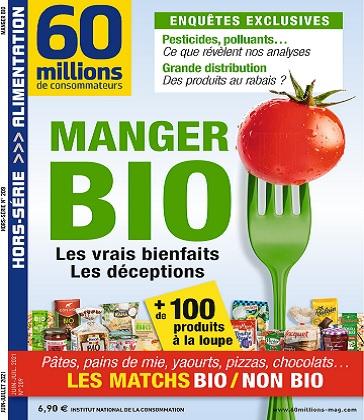 60 Millions De Consommateurs Hors Série N°209 – Juin-Juillet 2021