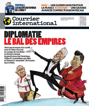 Courrier International N°1597 Du 10 au 16 Juin 2021