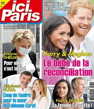 Ici Paris N°3962 Du 9 au 15 Juin 2021
