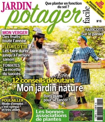 Jardin Potager Facile N°15 – Juin-Août 2021