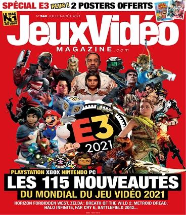 Jeux Vidéo Magazine N°246 – Juillet-Août 2021