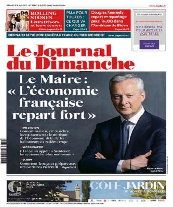 Le Journal Du Dimanche N°3882 Du 6 Juin 2021