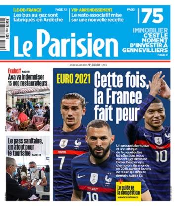 Le Parisien Du Jeudi 10 Juin 2021