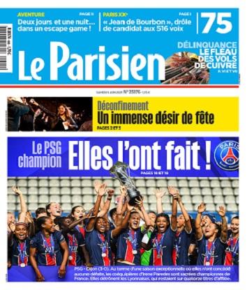 Le Parisien Du Samedi 5 Juin 2021
