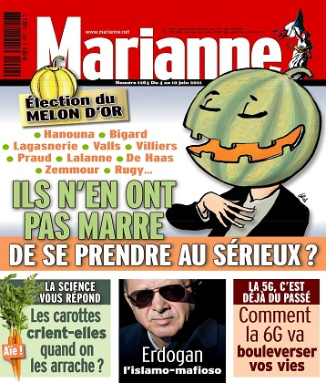 Marianne N°1264 Du 4 au 10 Juin 2021